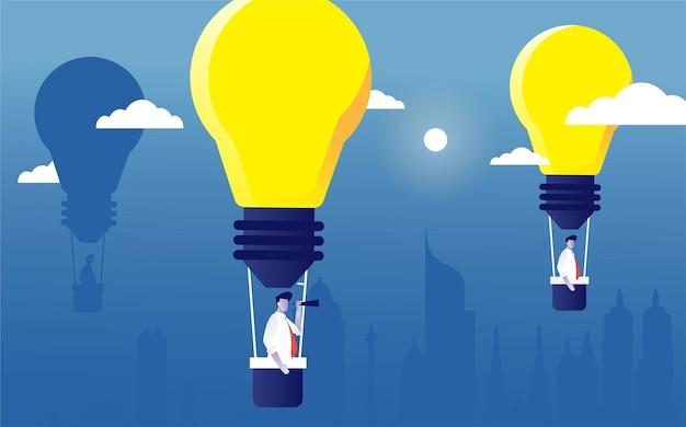 Balloon ideas from lamp