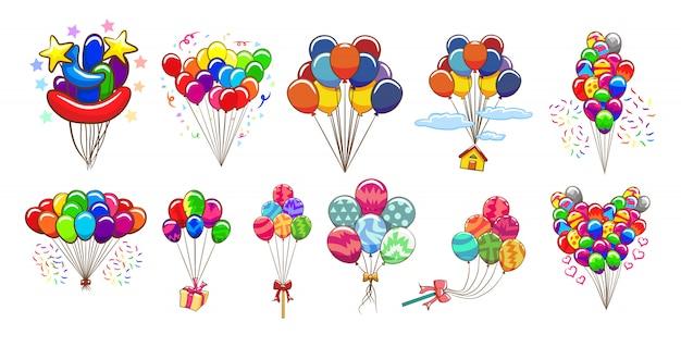 Balloon  set clipart