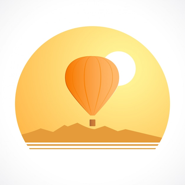 Ballooning logo for designs