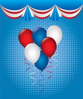 Balloons design