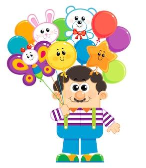 Balloons seller