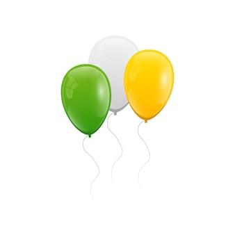 Воздушные шары установлены. патрик цвета