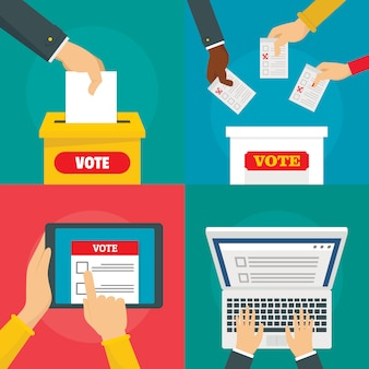 Ballot voting box