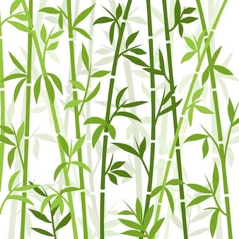 Бамбук фон японские азиатские растения обои трава Premium векторы