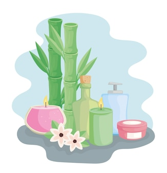 Bamboo and icons spa