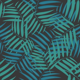 Бамбуковый лист фона Premium векторы
