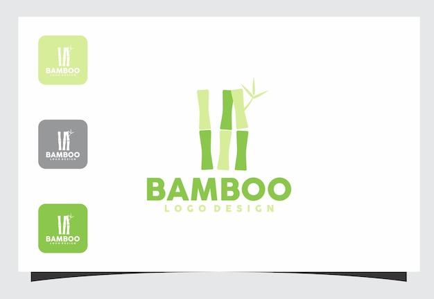 Bamboo logo design