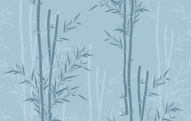 Бамбуковый узор