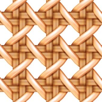 竹製織パターン、天然wテクスチャ表面