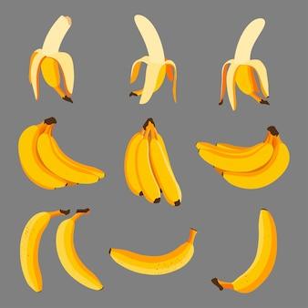 バナナ漫画セット