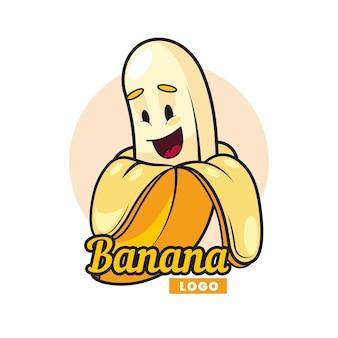 Logo del personaggio di banana