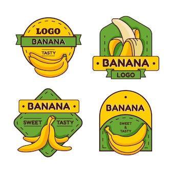 바나나 로고 컬렉션