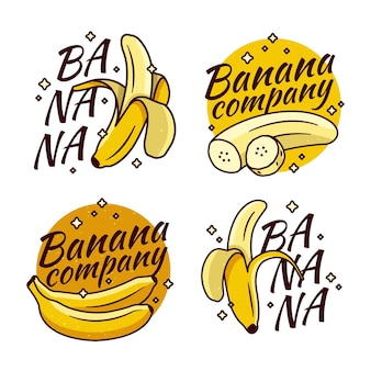 Banana logo company collection