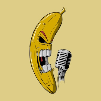 Banana scream