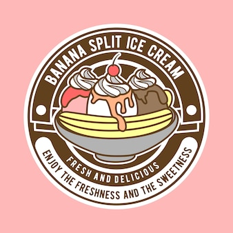 Banana split logo