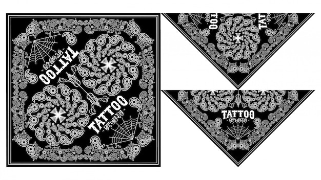 Bandana skull designs
