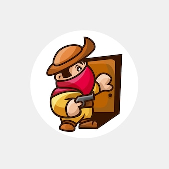 Бандит с оружием