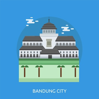 Bandung background design