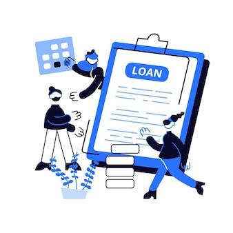 은행 신용. 재무 관리