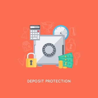 Bank deposit protection
