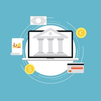 Banking background design