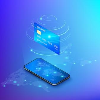 Банковский онлайн-сервис. денежный перевод или онлайн-платеж. интернет-магазины.