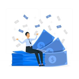 Illustrazione di concetto di banconota