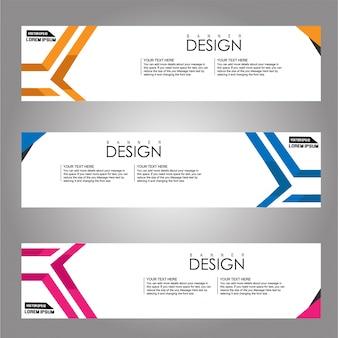 Banner background.modern template design