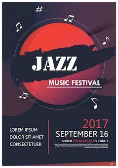 Banner brochure flyer poster music