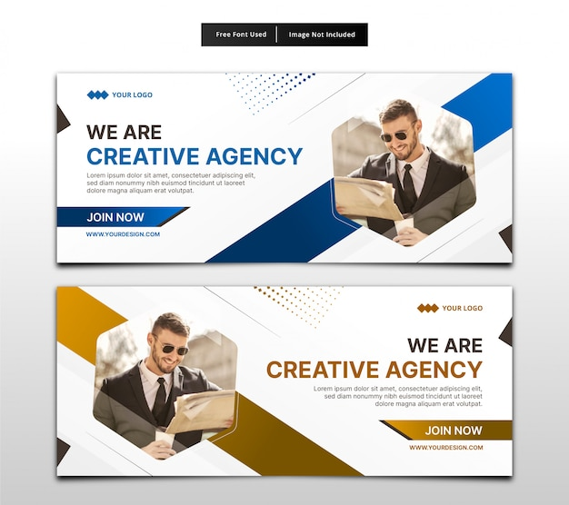 Banner business template.