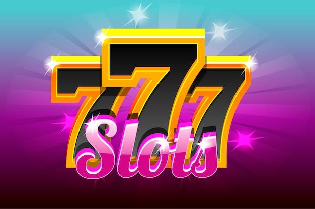 Banner for casino slots