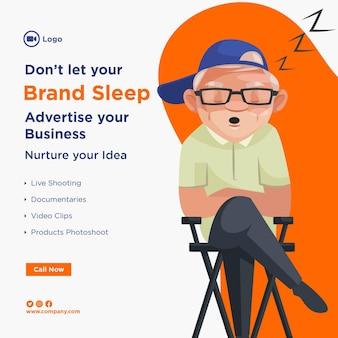 あなたのビジネスを宣伝するバナーデザイン