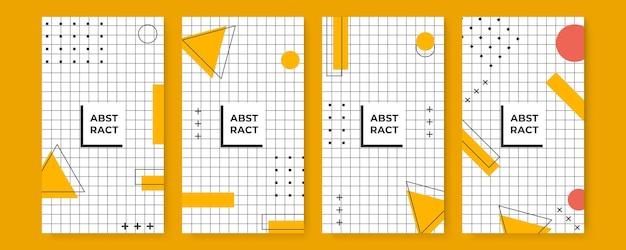 コピースペースとシンプルでモダンなスタイルのバナーデザインテンプレート