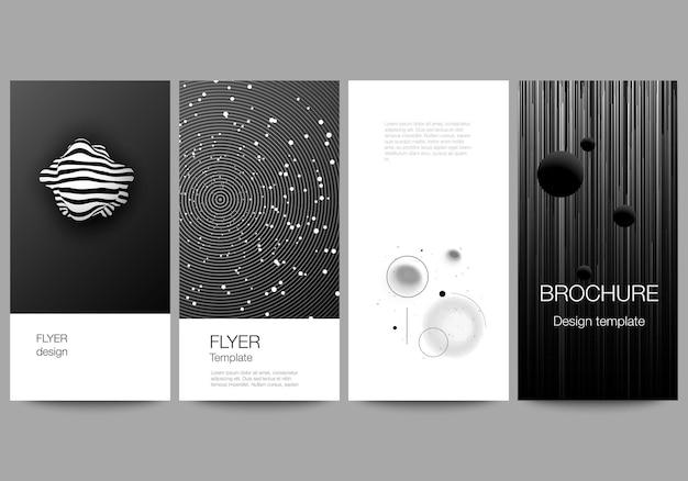 Banner design templates for website advertising design Premium Vector