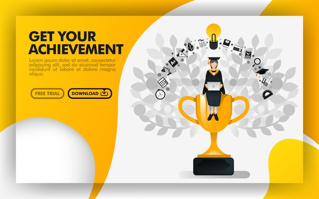 Banner for get your achievement