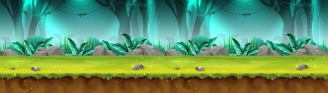 神秘雨林横幅游戏的