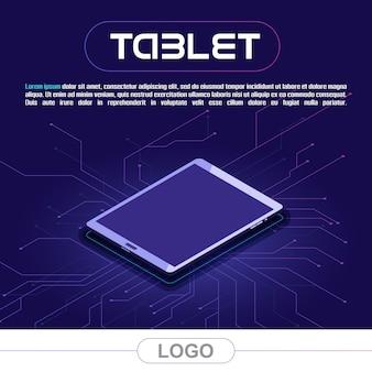 Banner for tablet