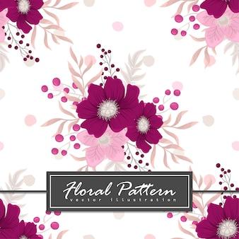 Шаблон баннера. Красивые цветы. Поздравительная открытка Рамка.