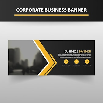 Banner template design
