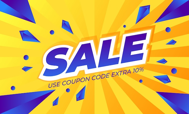 Banner template sale promotion