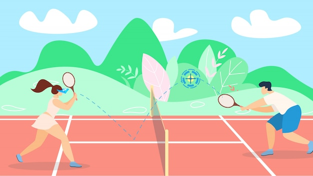 Banner tennis game development strategy