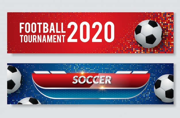 Banner web for sport event