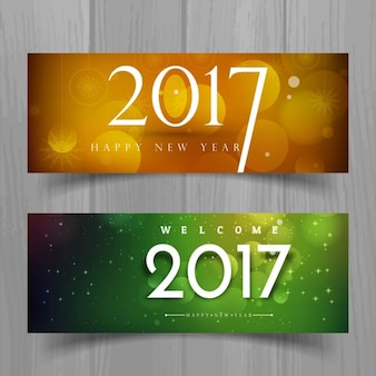 Banners for new year