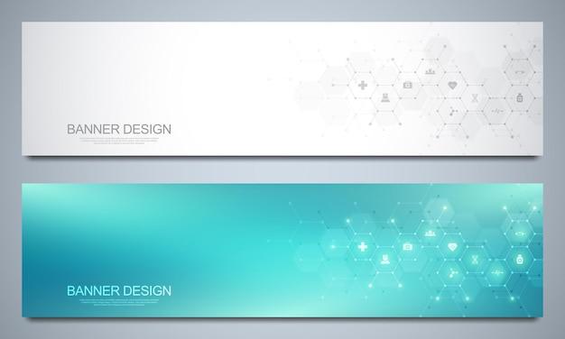 Banners template Premium Vector