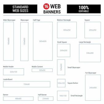Formati banner standard web