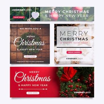 Баннеры с фото на рождество