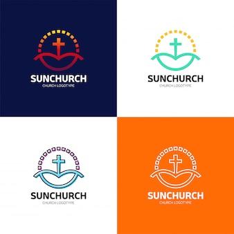 Баптистский крест в горном логотипе