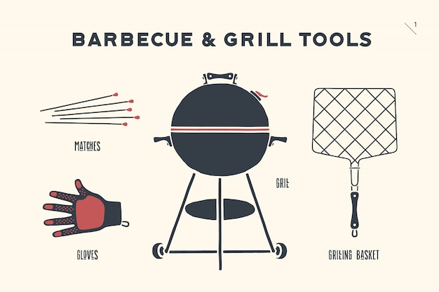 Barbecue and grill tools
