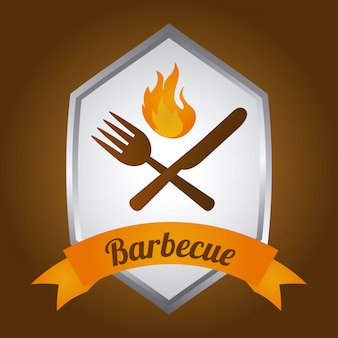 Barbecue label