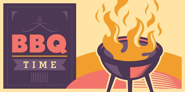 Barbecue time design